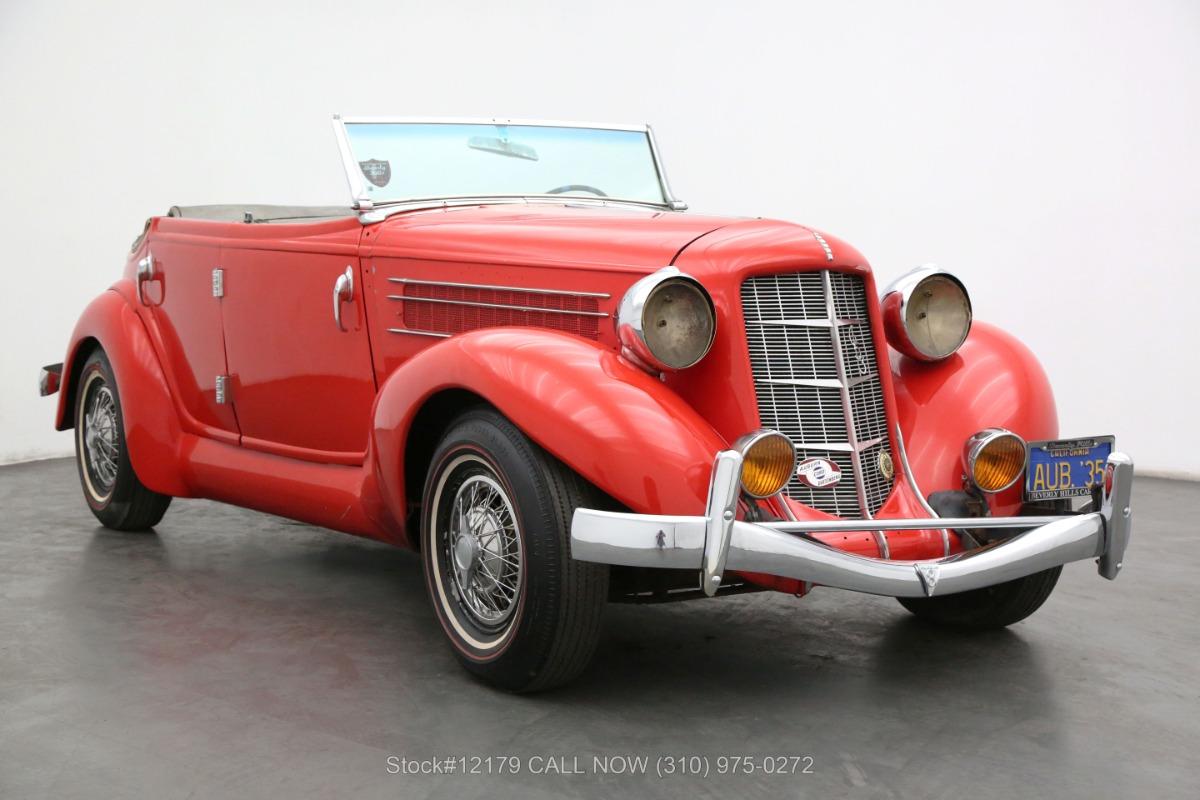 1935 Auburn 653 Convertible Sedan