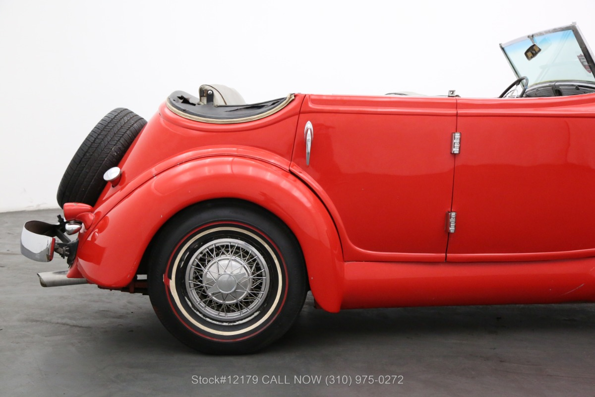 Used 1935 Auburn 653 Convertible Sedan  | Los Angeles, CA