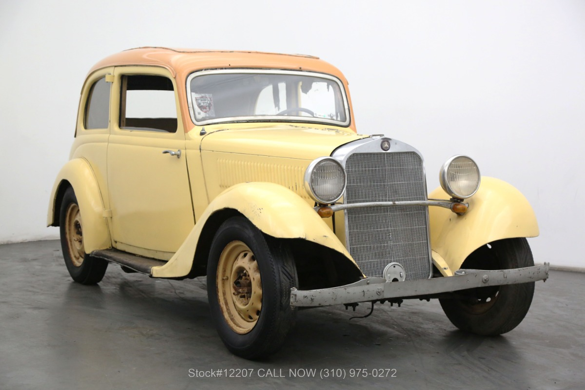 1936 Mercedes-Benz 170 Coupe