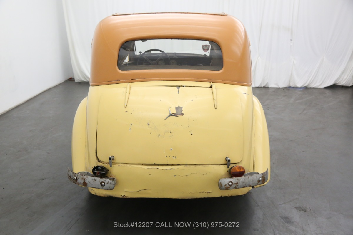 Used 1936 Mercedes-Benz 170 Coupe | Los Angeles, CA