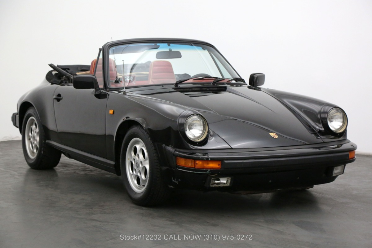 Used 1984 Porsche Carrera Cabriolet | Los Angeles, CA