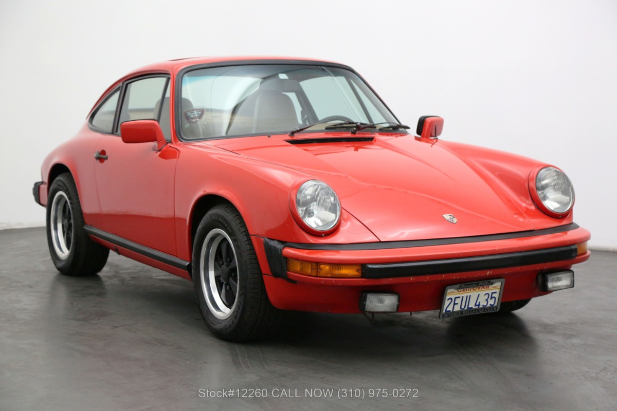 1976 Porsche 912E Sunroof Coupe