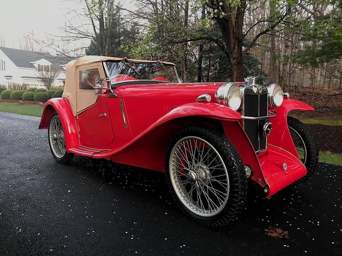 1934 MG PA Roadster