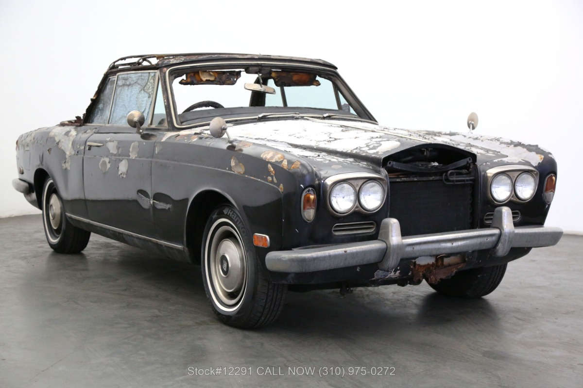 1972 Rolls Royce Corniche Right-Hand Drive