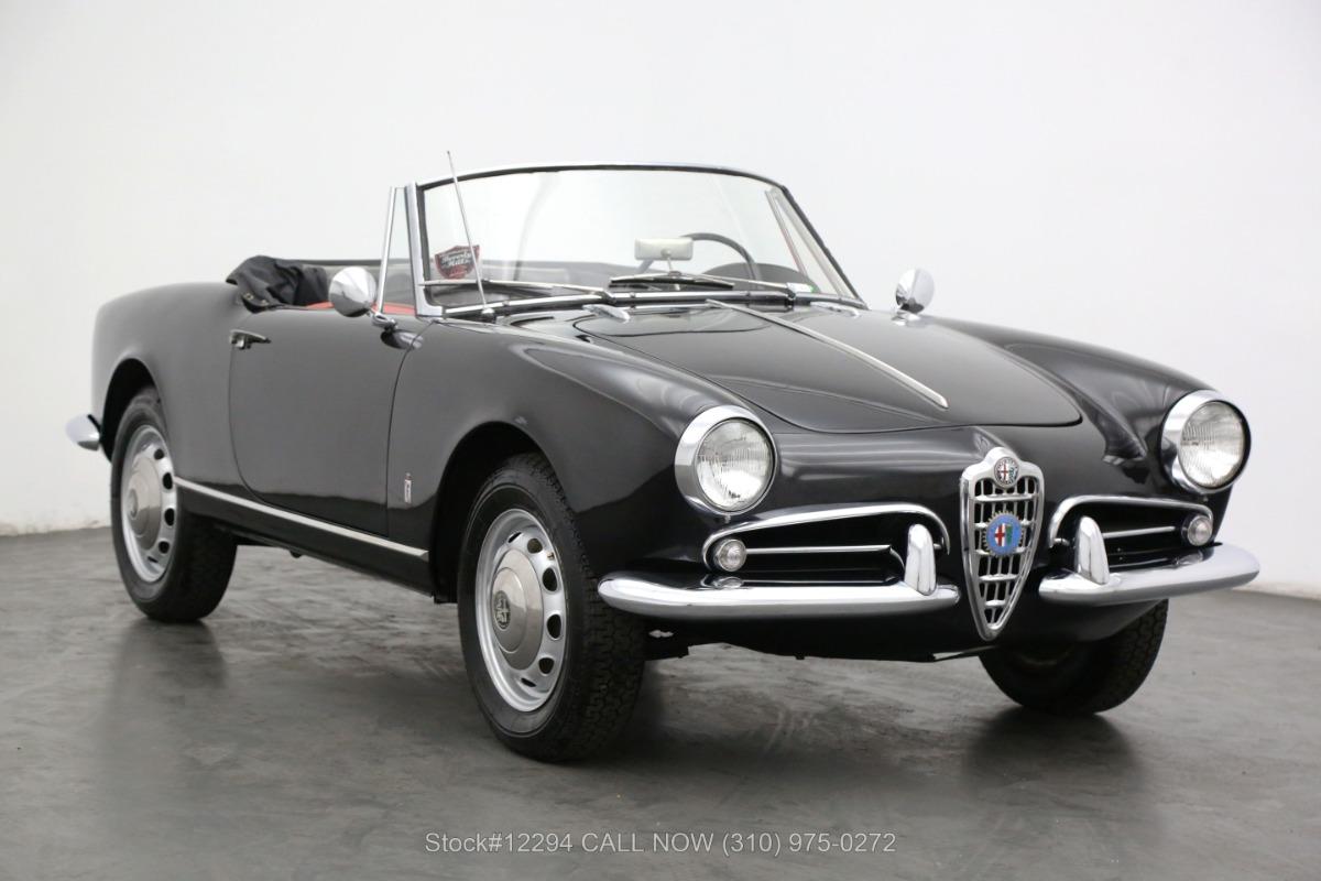 1962 Alfa Romeo Giulietta Spider Normale