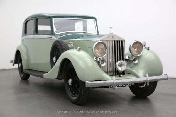 1937 Rolls Royce 25/30 Right-Hand Drive