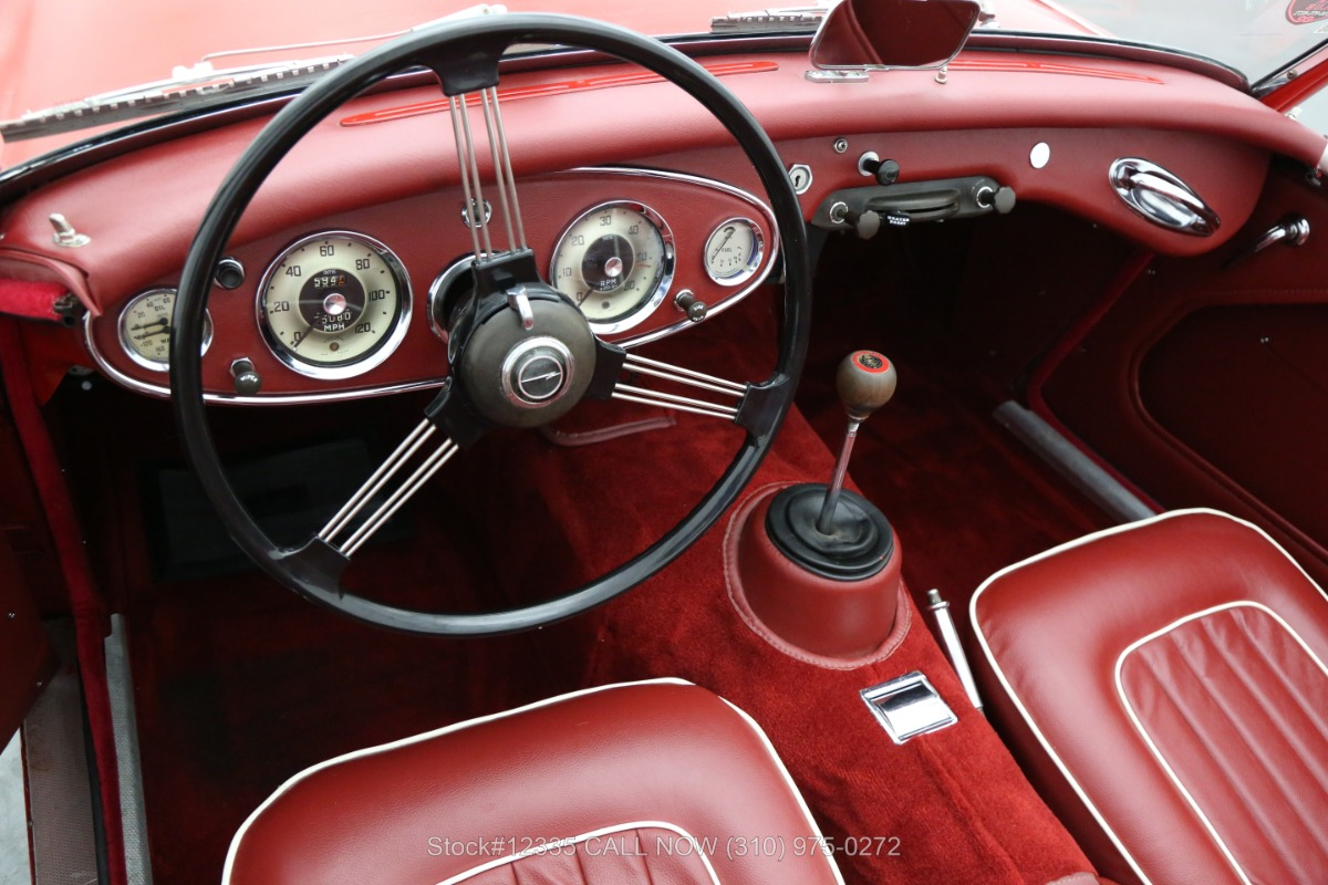 Used 1962 Austin-Healey 3000 Tri-Carb Convertible Sports Car | Los Angeles, CA