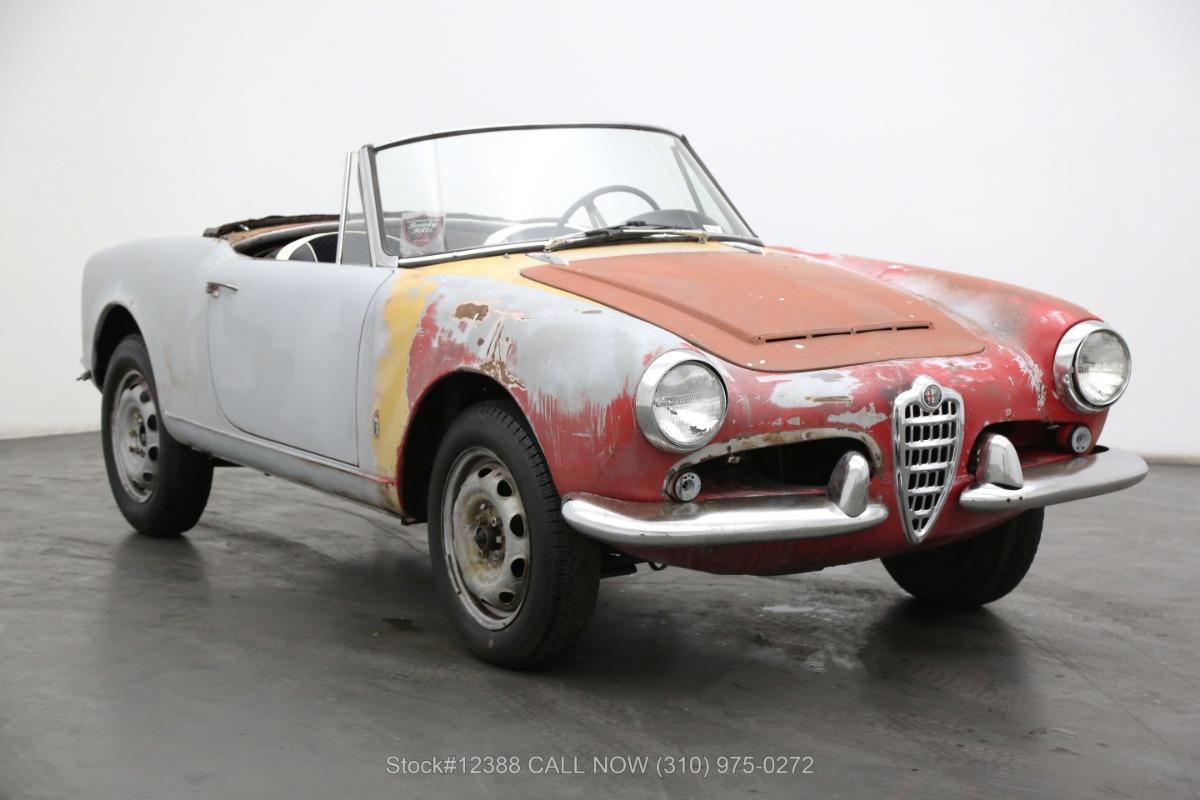 1966 Alfa Romeo Giulia Spider