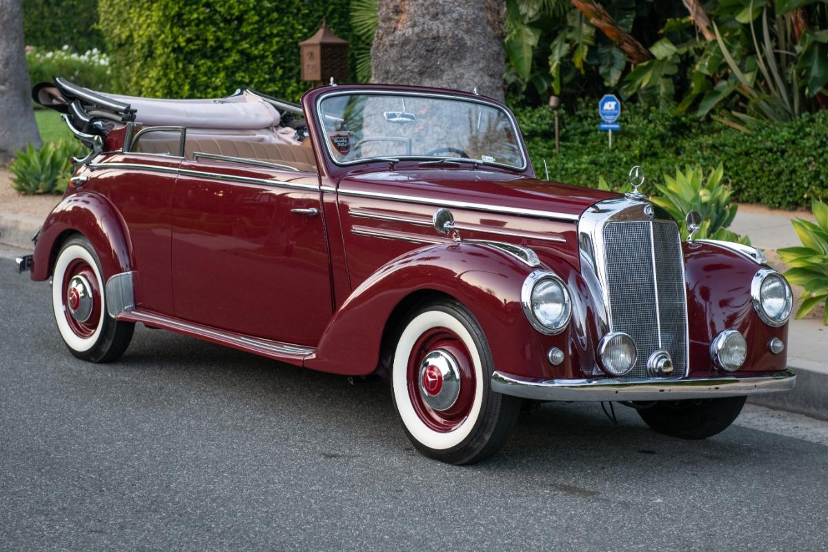 Used 1952 Mercedes-Benz 220 Cabriolet B | Los Angeles, CA