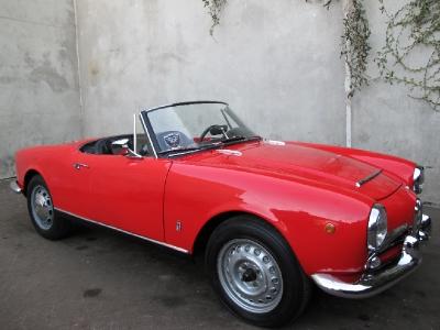 1963 Alfa Romeo Giulia Spider Normale 1600  width=