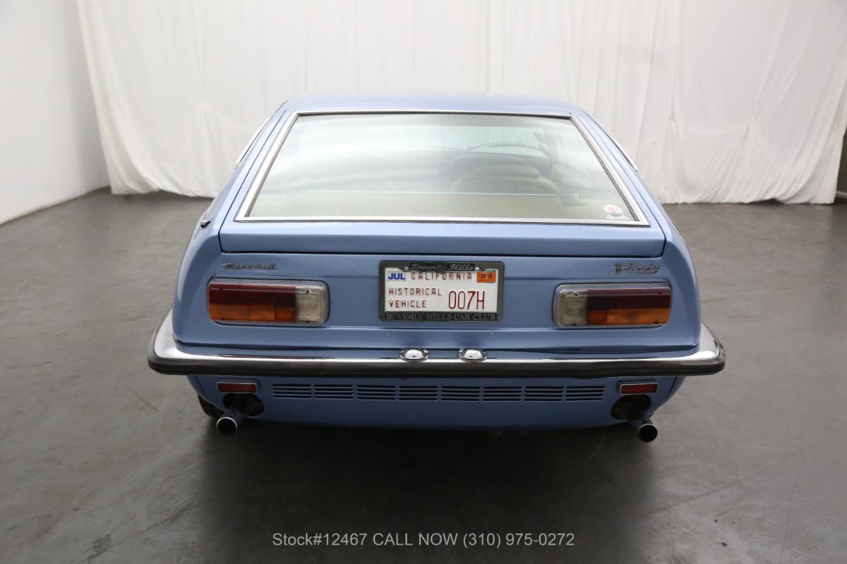 Used 1970 Maserati Indy    Los Angeles, CA