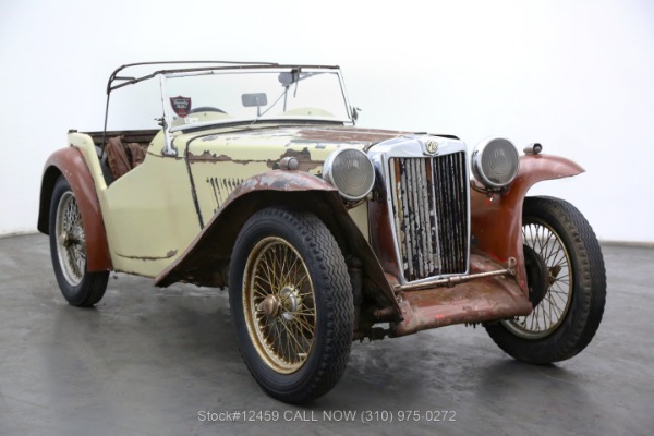 1937 MG TA Right-Hand Drive