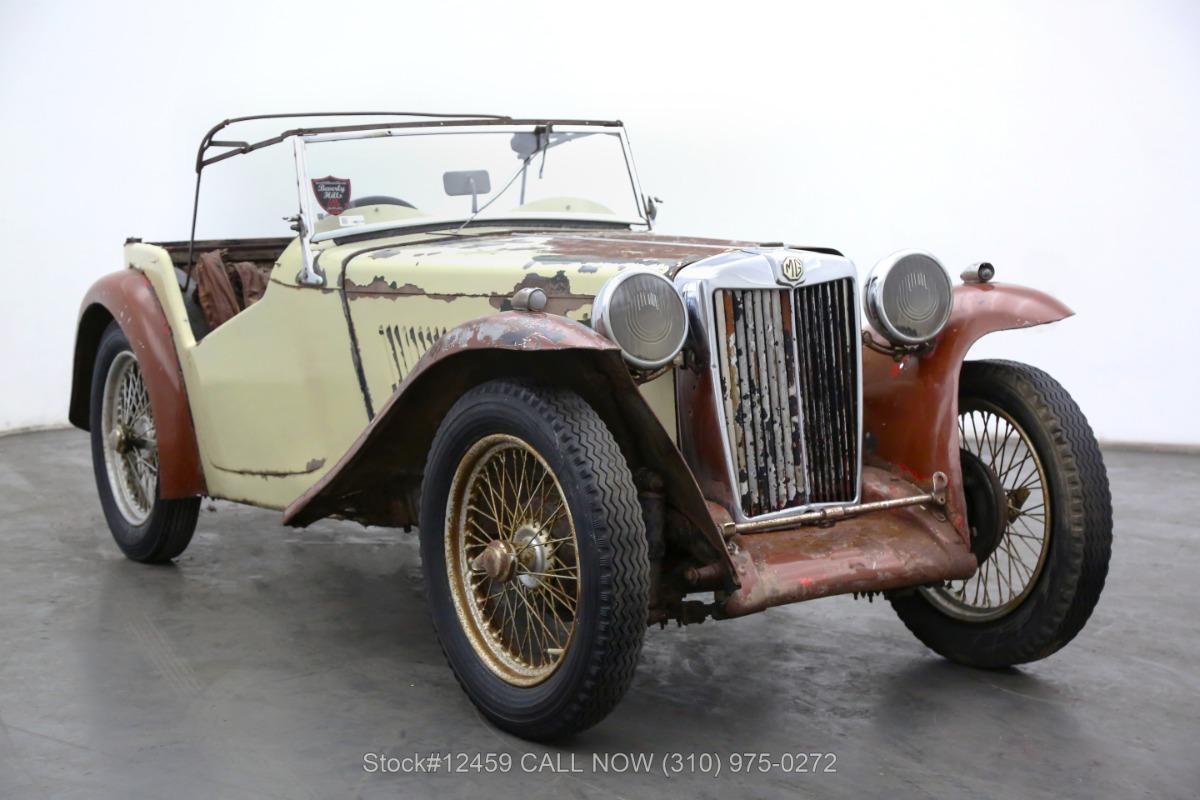 1937 MG TA Right-Hand Drive