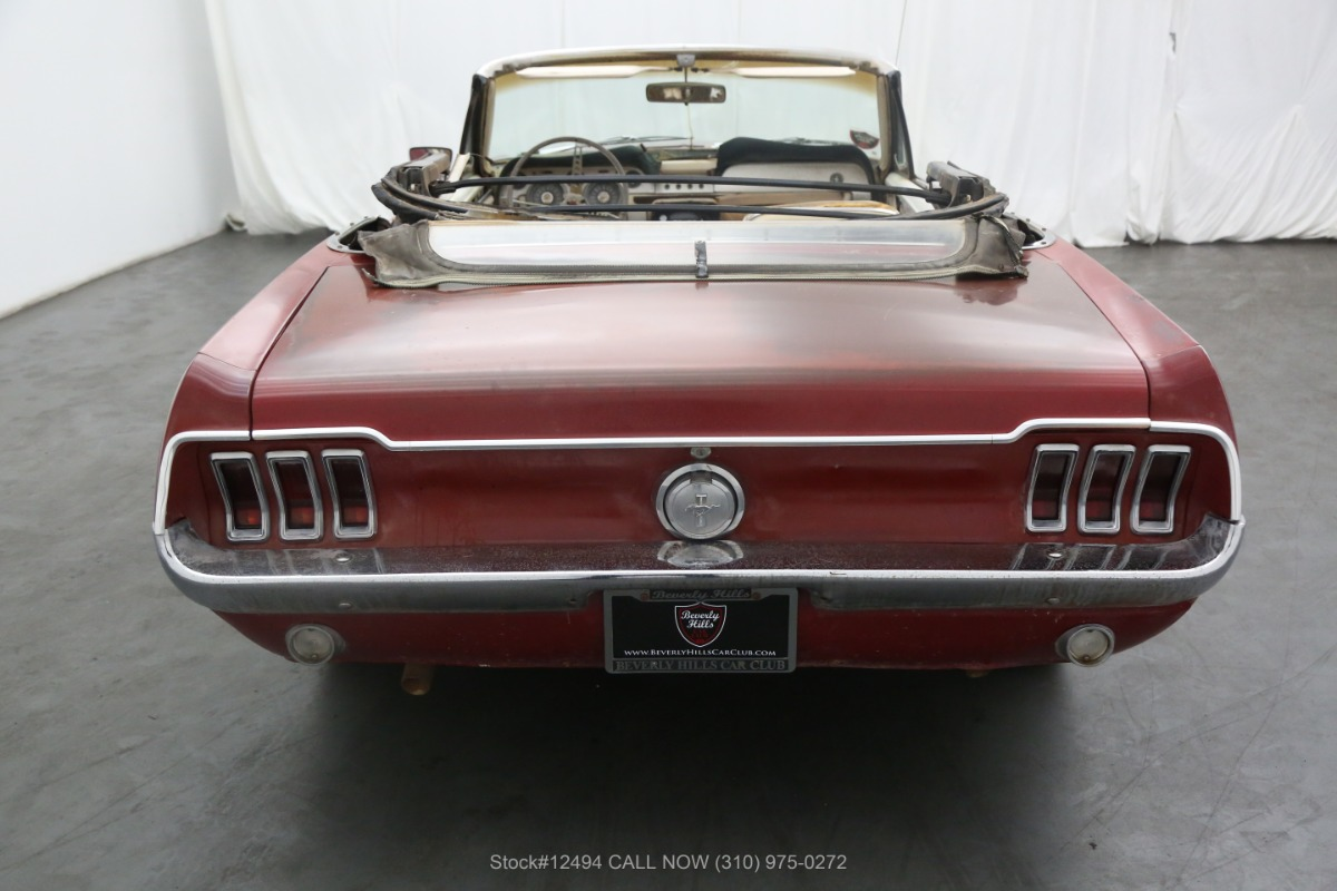 Used 1967 Ford Mustang GT Convertible S-Code | Los Angeles, CA