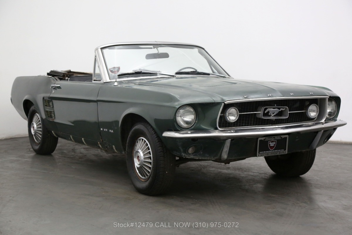 1967 Ford Mustang Convertible C-Code