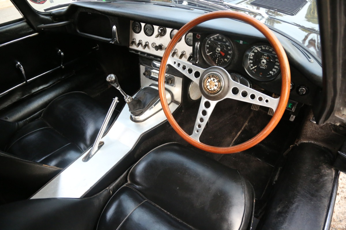 Used 1961 Jaguar XKE Right-Hand Drive Flat Floor Fixed Head Coupe | Los Angeles, CA