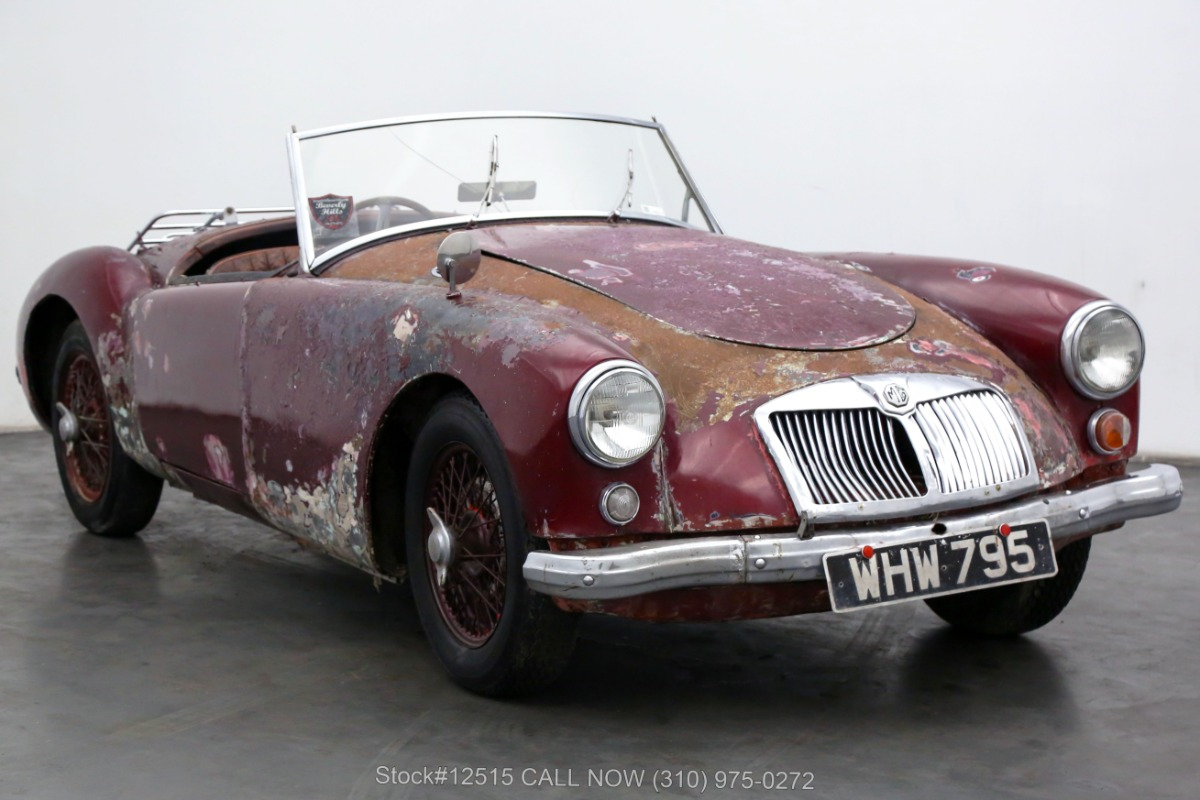 1956 MG A Roadster Right-Hand Drive