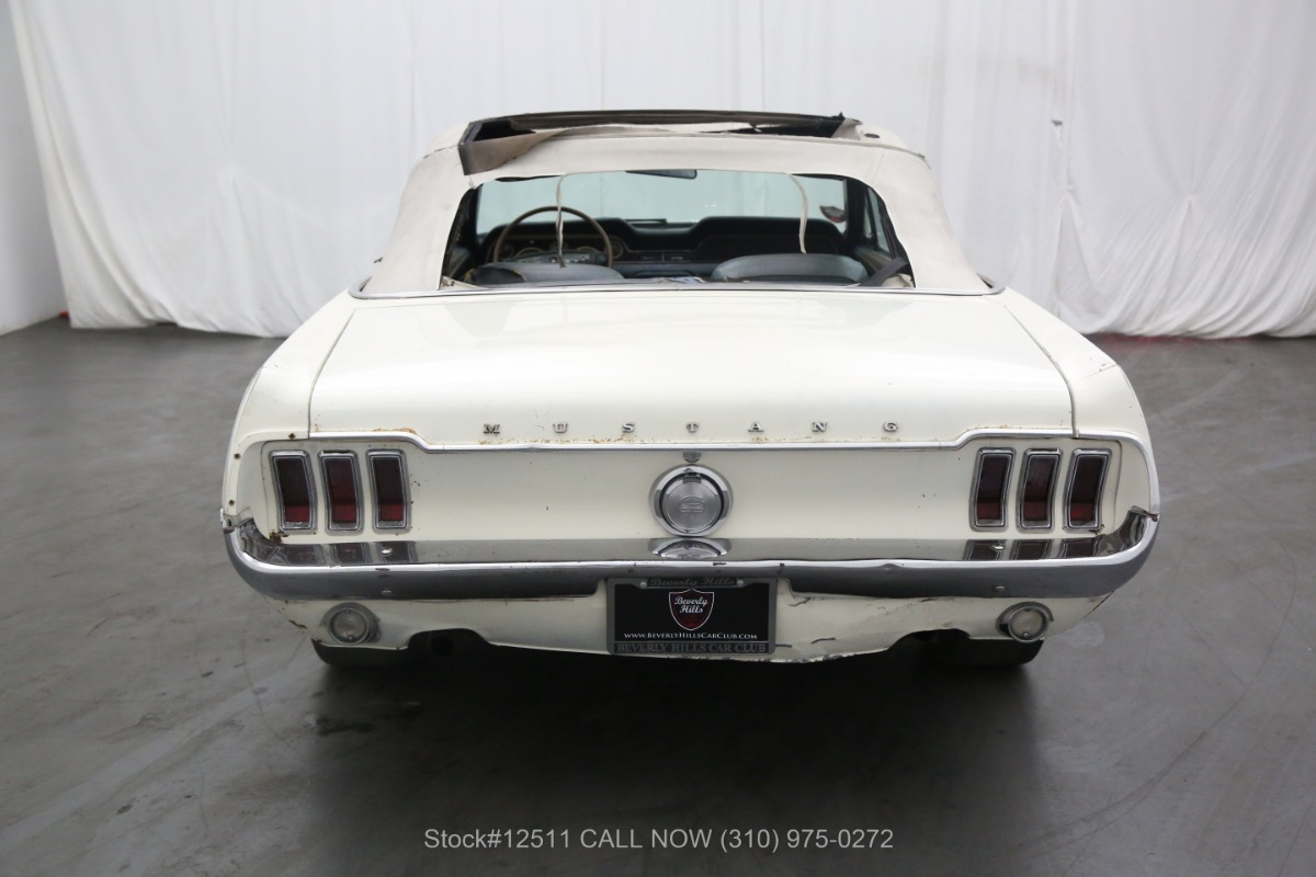 Used 1968 Ford Mustang GT Convertible J-Code | Los Angeles, CA