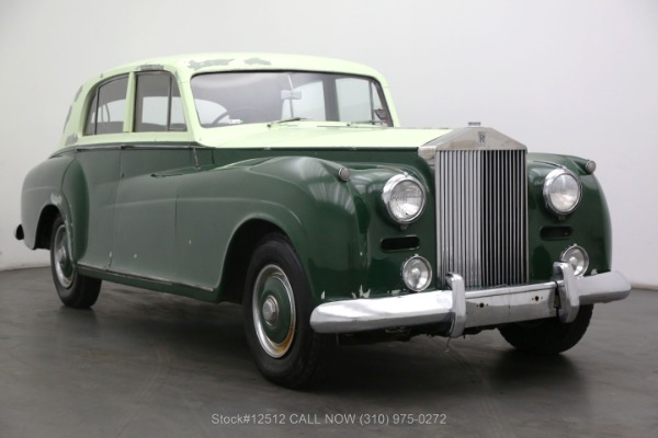 1955 Rolls Royce Silver Dawn Coachwork By James Young LTD