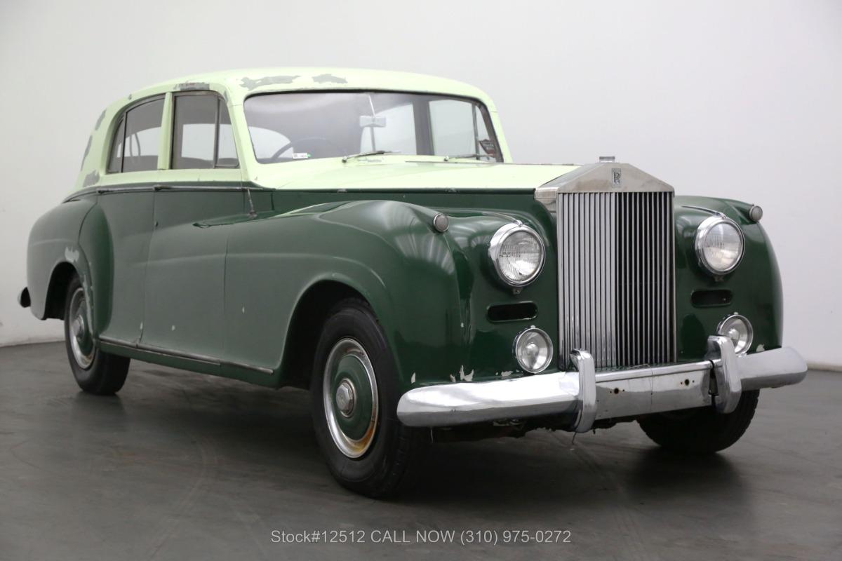 1955 Rolls Royce Silver Dawn Coachwork By James Young LTD