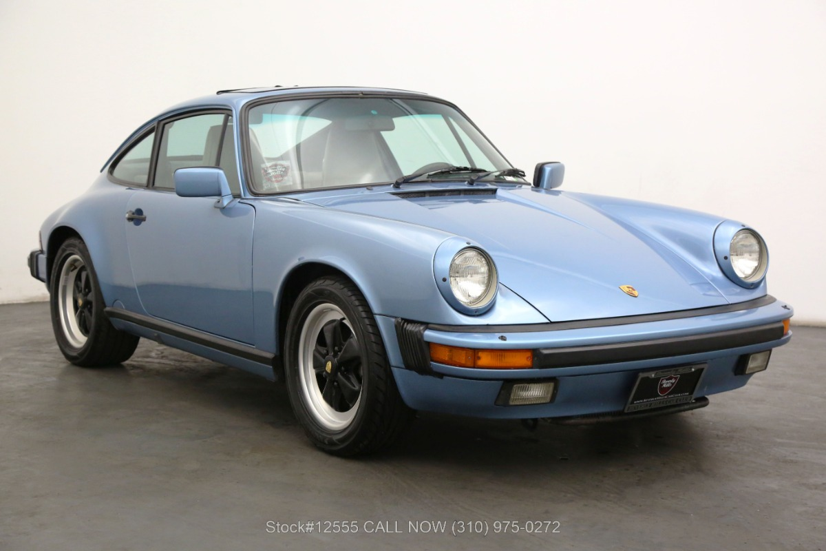 1986 Porsche Carrera Coupe