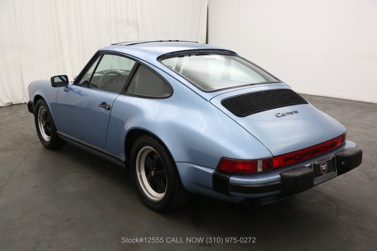 Used 1986 Porsche Carrera Coupe | Los Angeles, CA