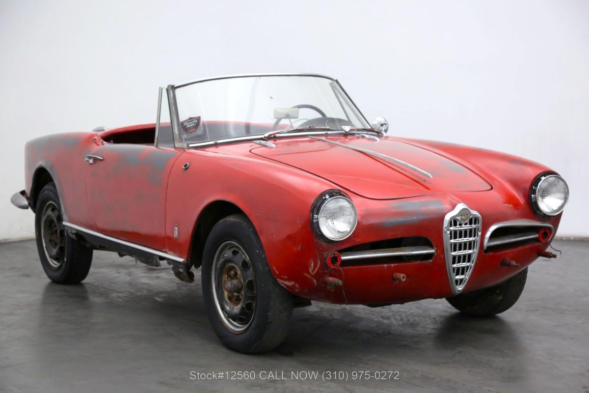 Used 1960 Alfa Romeo Giulietta Spider  | Los Angeles, CA