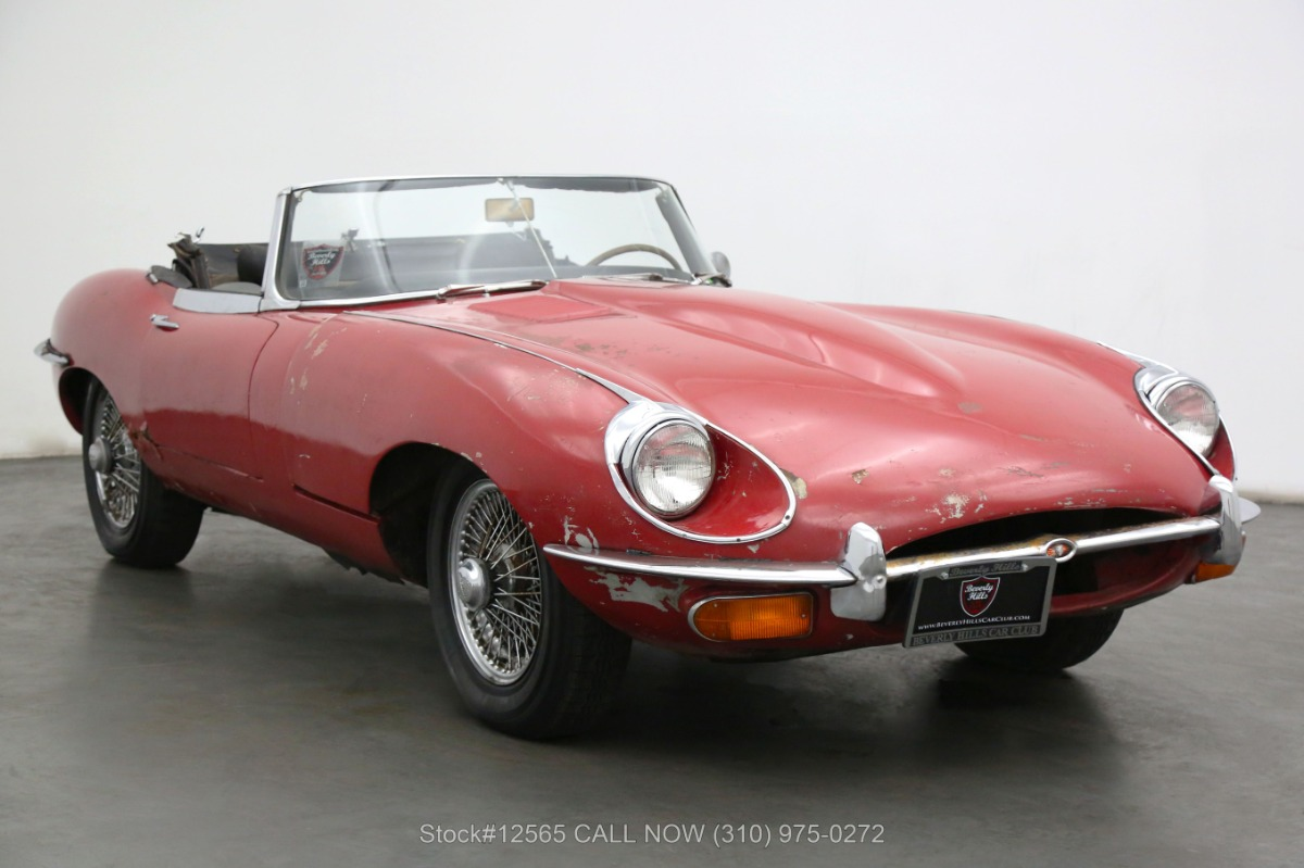1969 Jaguar XKE Roadster