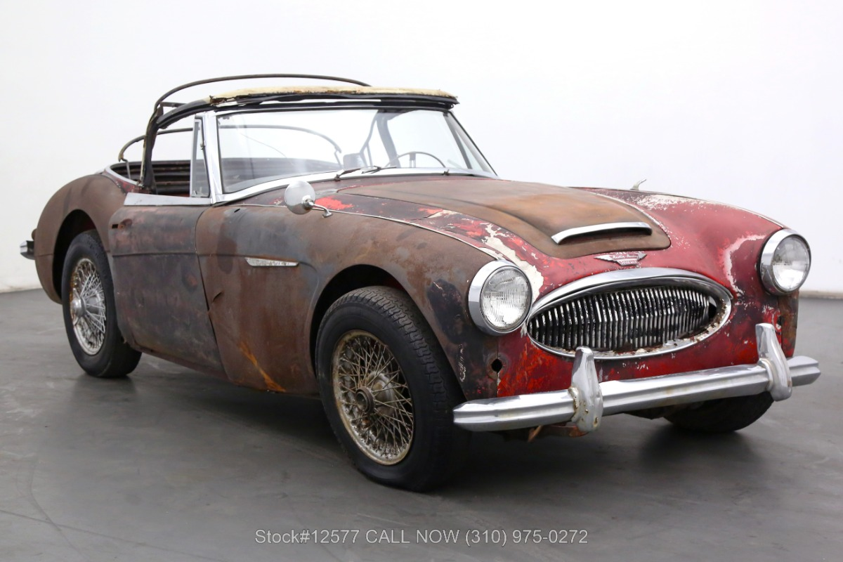1963 Austin-Healey 3000 Convertible Sports Car