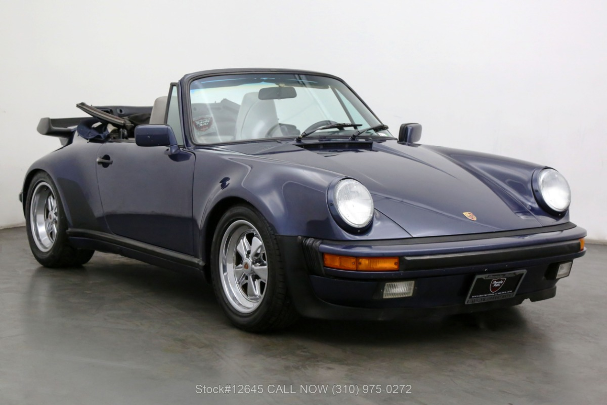 1987 Porsche Carrera M491 Turbo Look Cabriolet