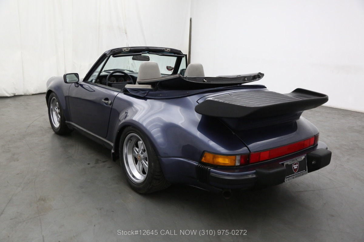 Used 1987 Porsche Carrera M491 Turbo Look Cabriolet | Los Angeles, CA