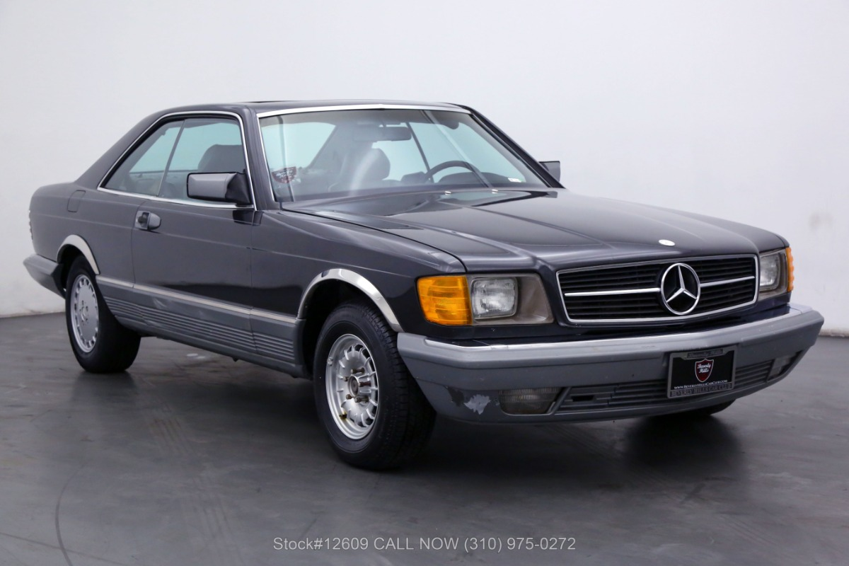 1985 Mercedes-Benz 500SEC Coupe