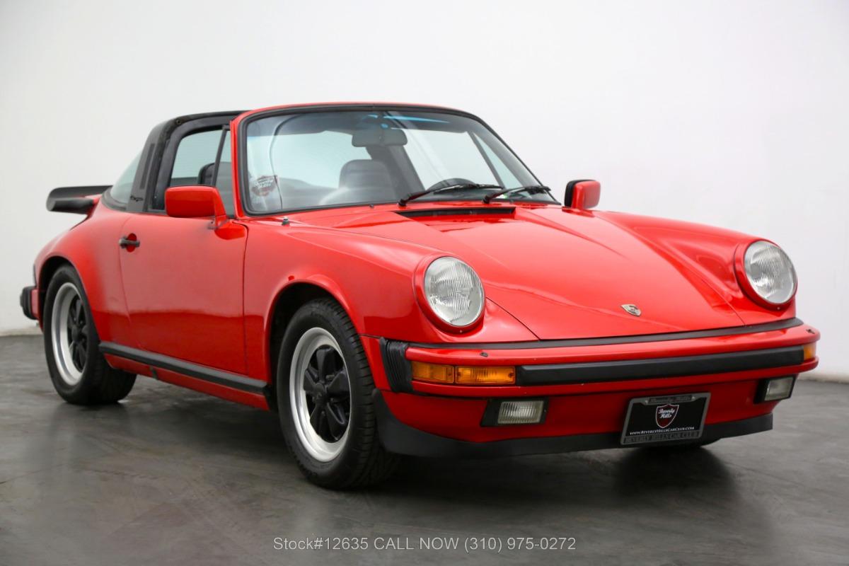 1984 Porsche Carrera Targa