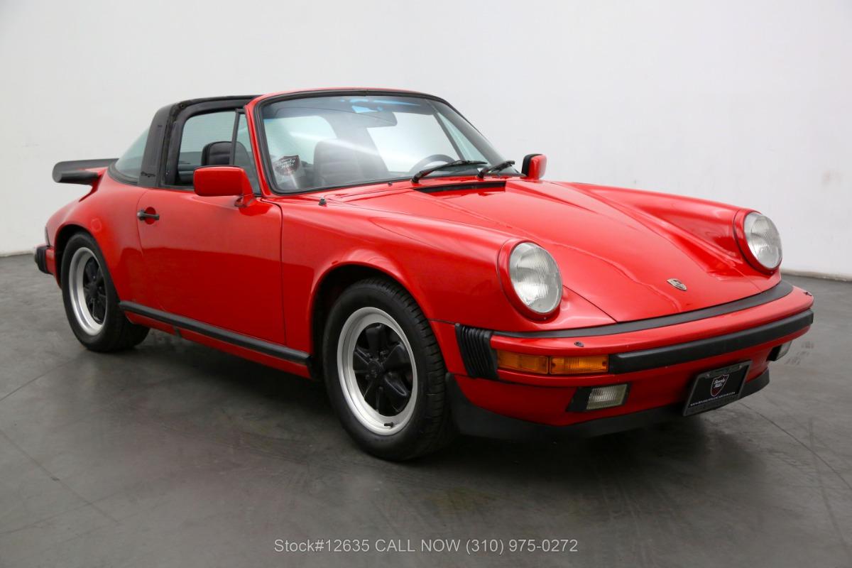 Used 1984 Porsche Carrera Targa | Los Angeles, CA