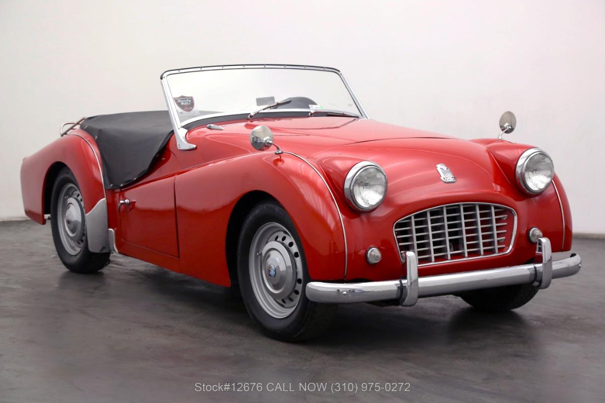 1960 Triumph TR3 Small Mouth