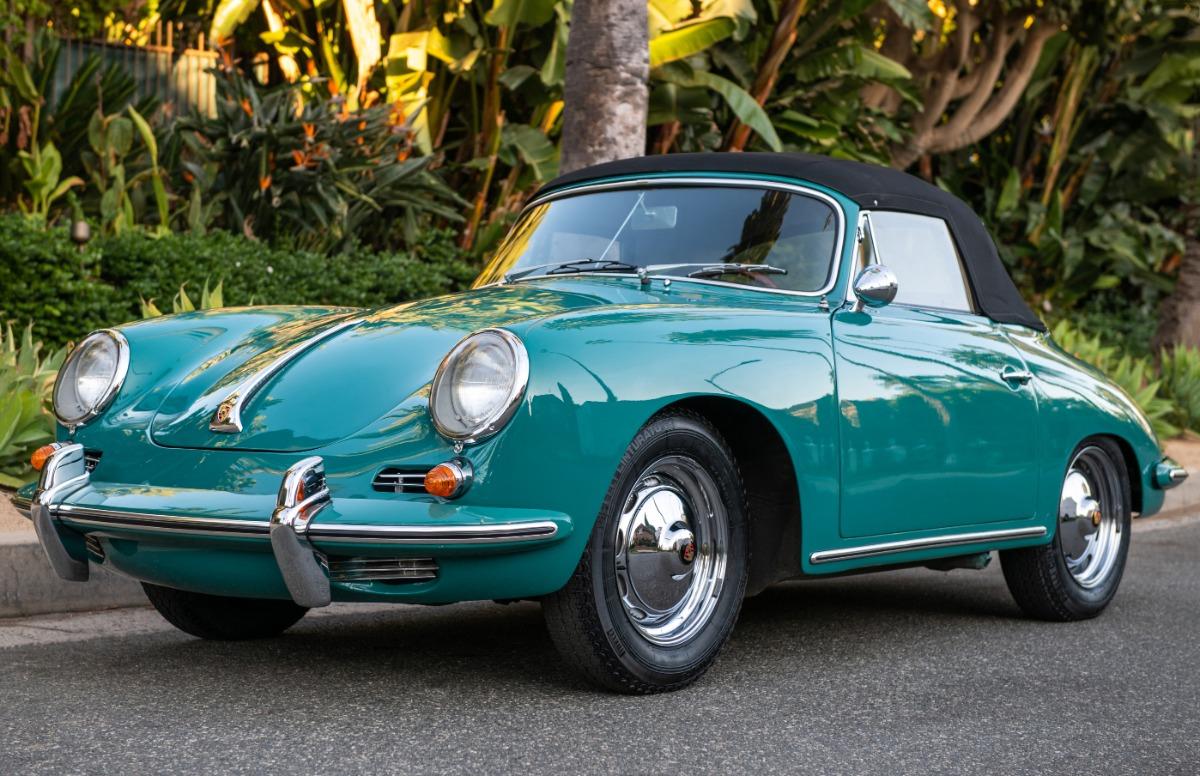 Used 1963 Porsche 356B Cabriolet | Los Angeles, CA