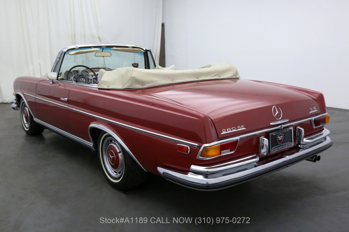 Used 1971 Mercedes-Benz 280SE Cabriolet Conversion | Los Angeles, CA