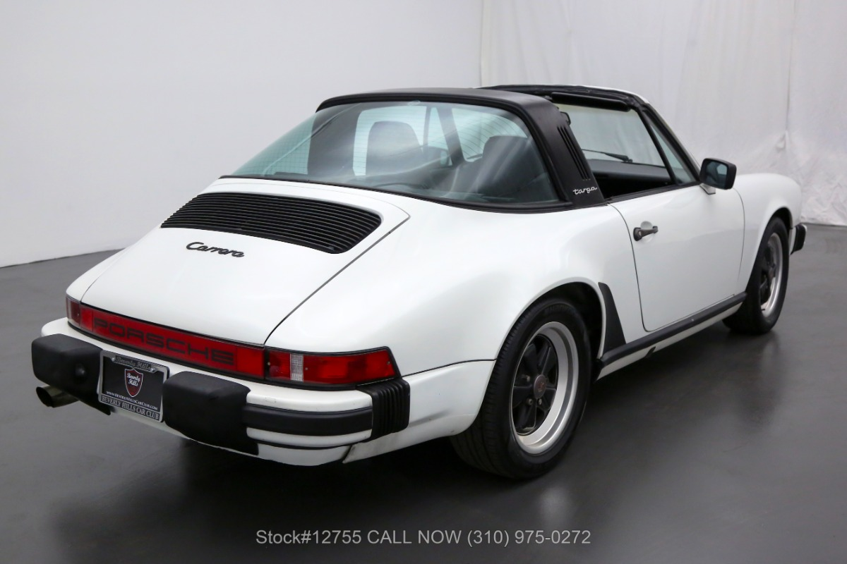 Used 1985 Porsche Carrera Targa | Los Angeles, CA