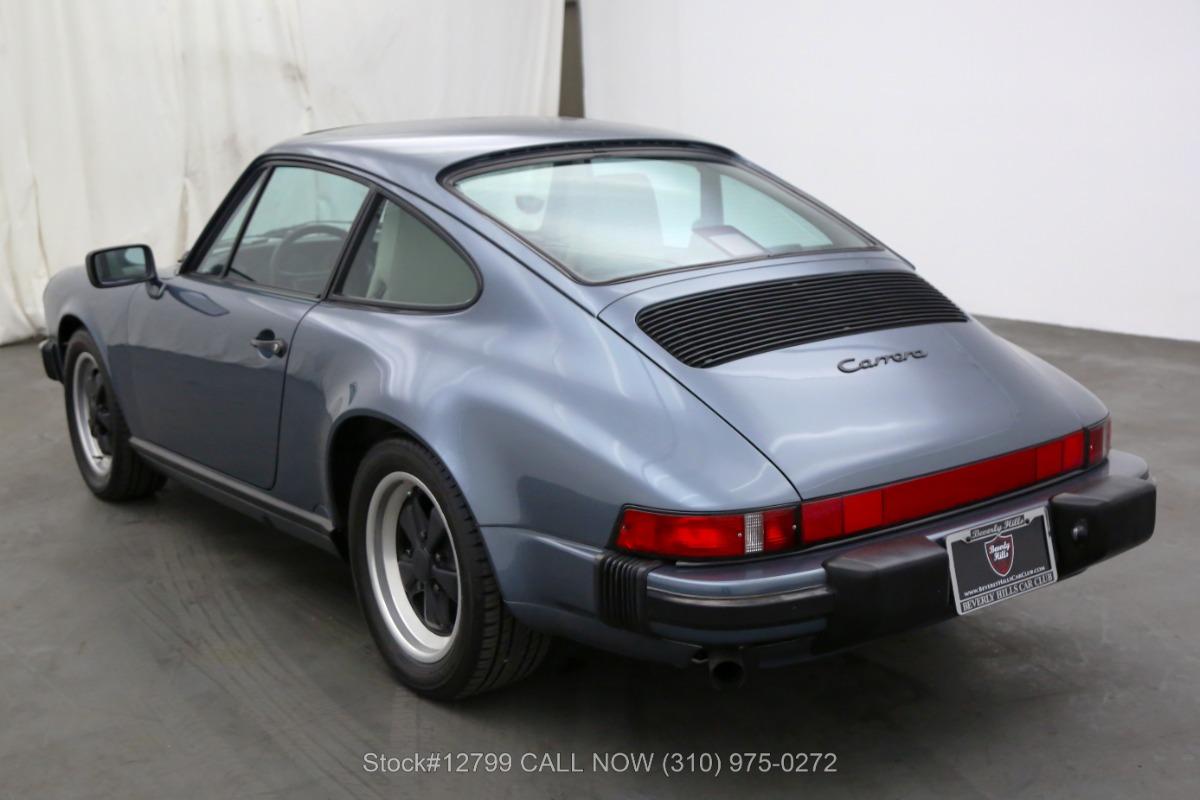 Used 1987 Porsche Carrera Coupe | Los Angeles, CA