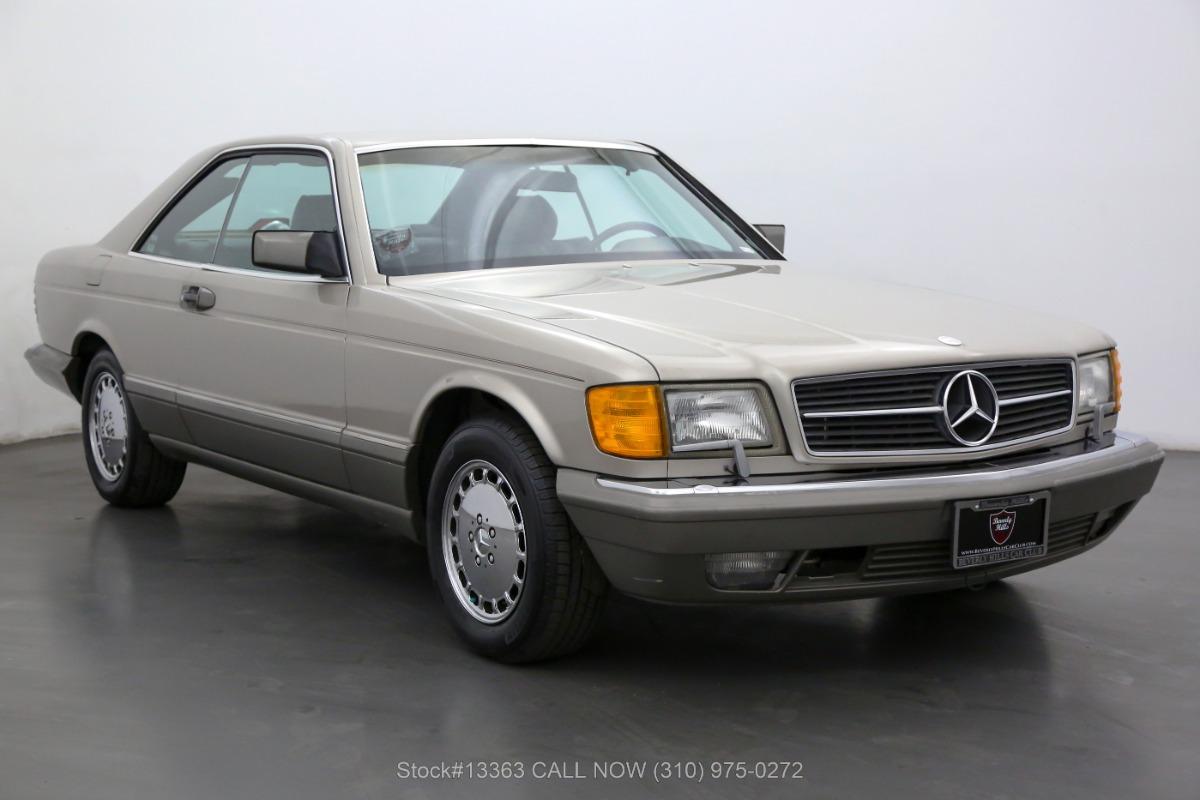 1986 Mercedes-Benz 560SEC Coupe