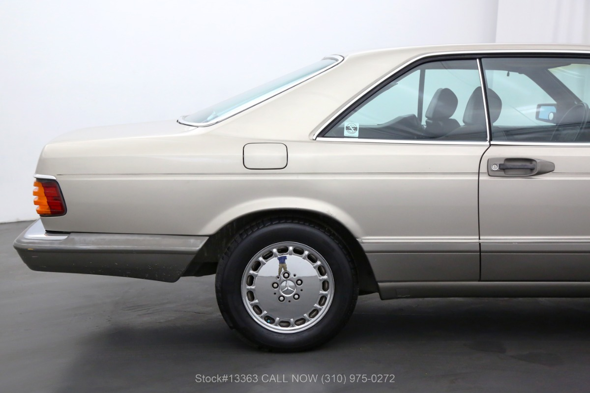 Used 1986 Mercedes-Benz 560SEC Coupe | Los Angeles, CA