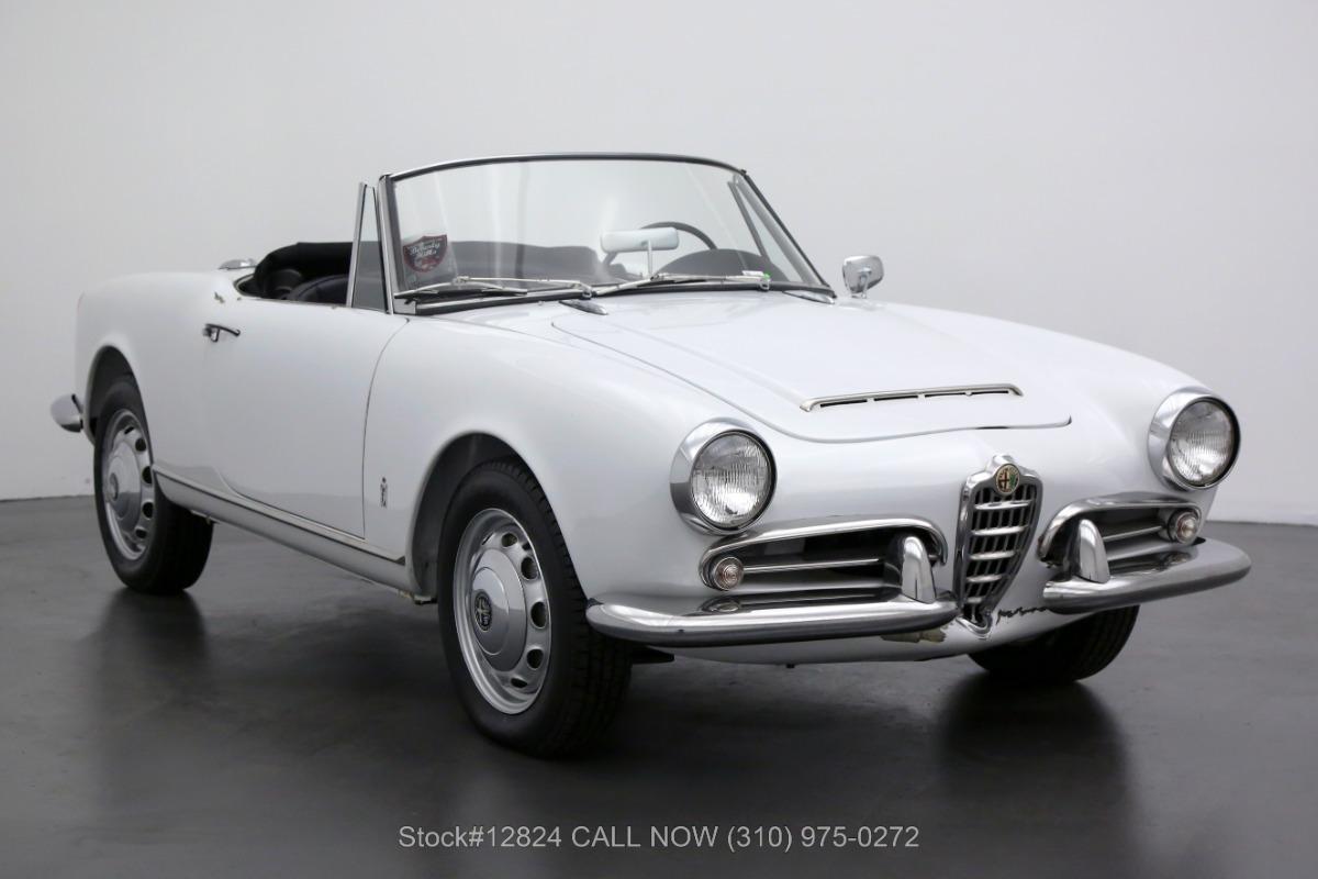 1963 Alfa Romeo Giulia 1600 Spider