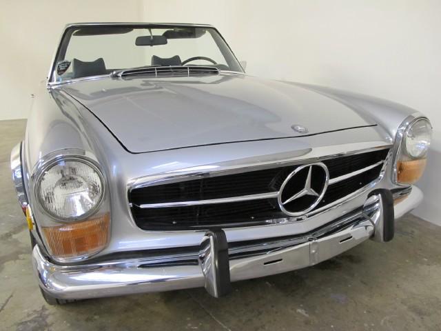 1971 mercedes benz 280sl beverly hills car club for Mercedes benz service beverly hills