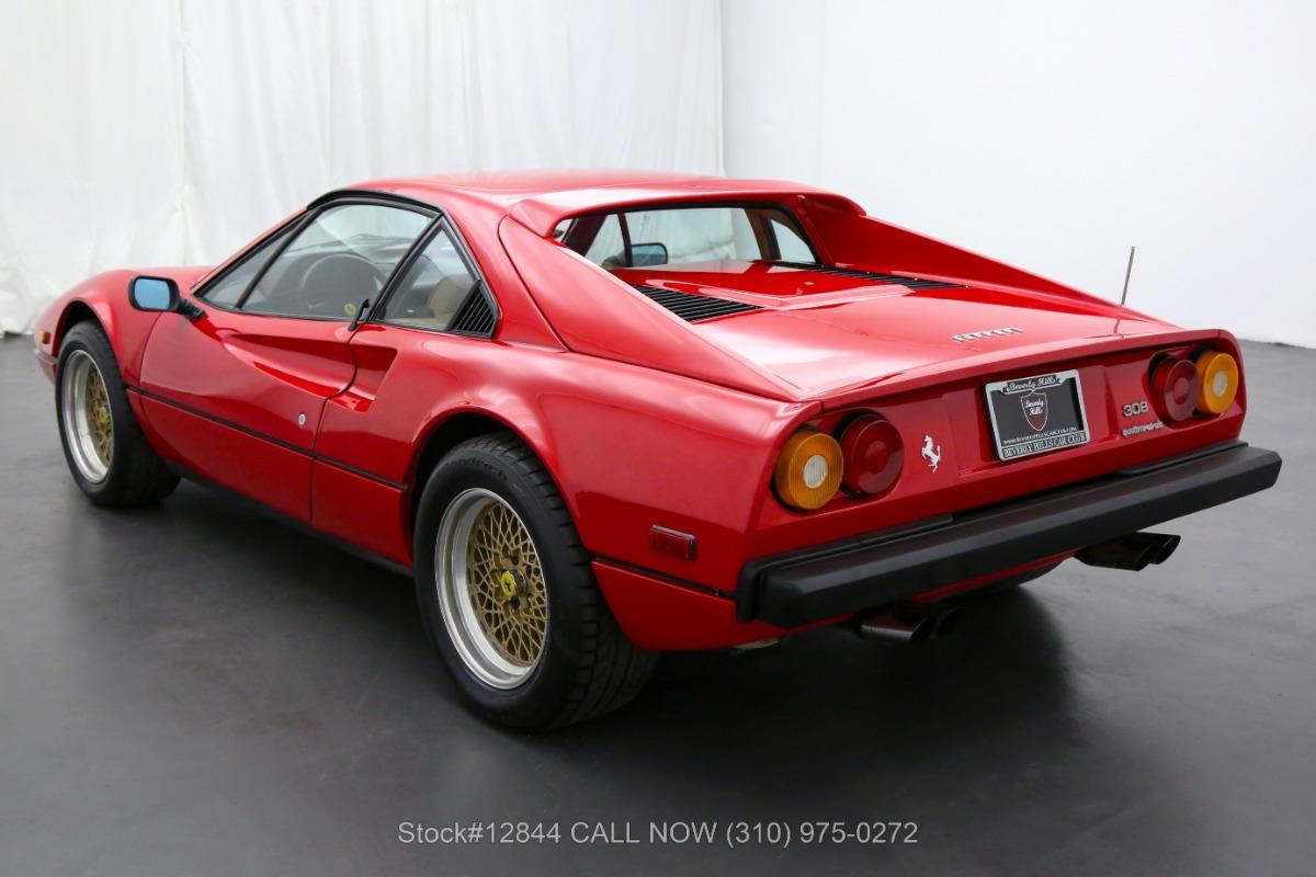 Used 1984 Ferrari 308GTB Quattrovalvole Euro Spec   Los Angeles, CA