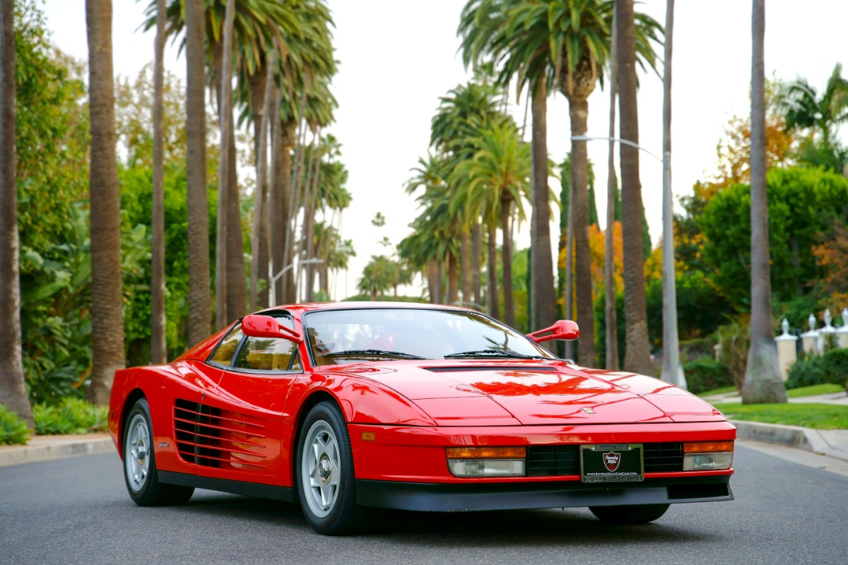 1986 Ferrari Testarossa Monospecchio Monodado