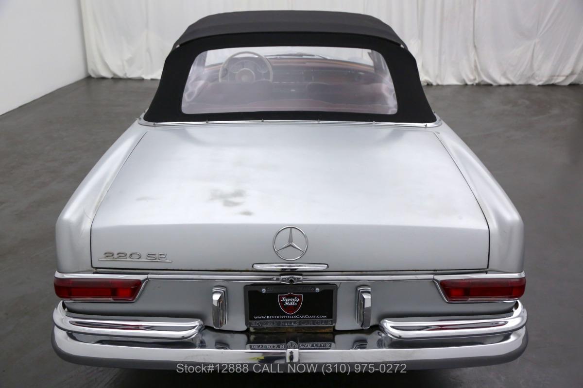 Used 1962 Mercedes-Benz 220SE Cabriolet | Los Angeles, CA