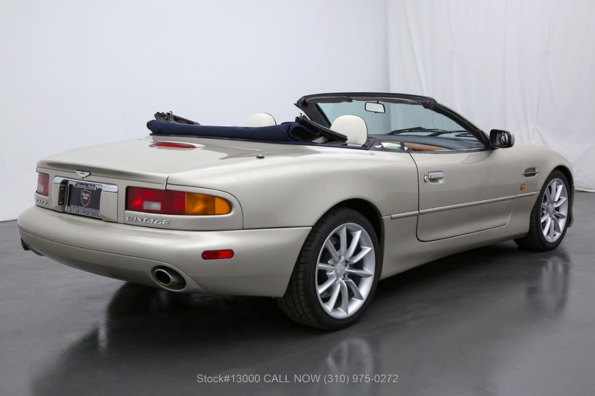 Used 2002 Aston Martin DB7 Vantage Convertible | Los Angeles, CA