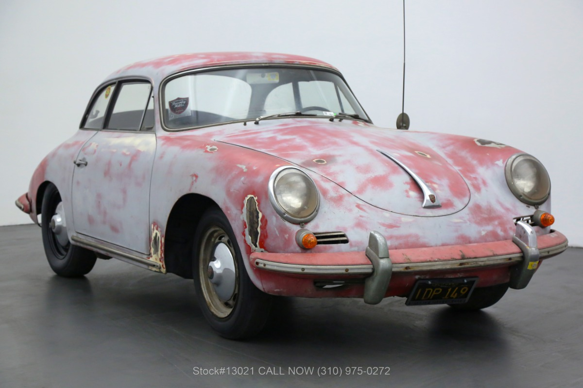 1961 Porsche 356B 1600 Super Karmann Notchback Coupe