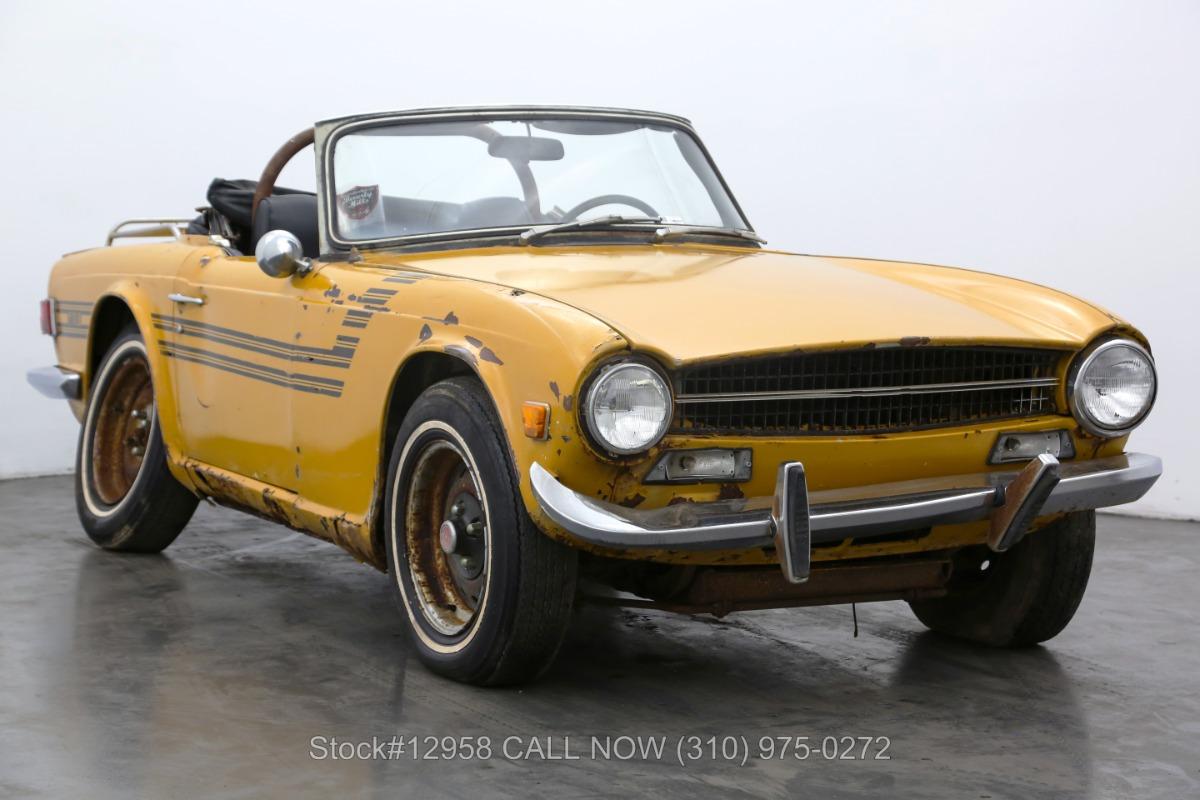 Used 1973 Triumph TR6    Los Angeles, CA