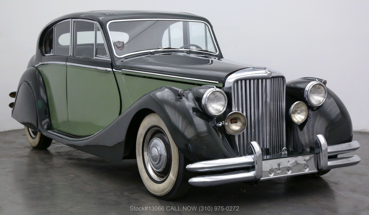 1949 Jaguar Mark V Saloon 3.5-Liter   Beverly Hills Car Club